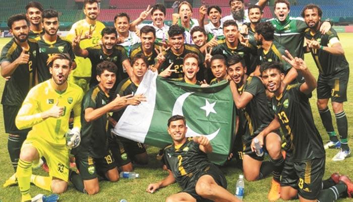 44 سال بعد ایشین گیمز میں پاکستانی فٹ بال کی عمدہ کارکردگی