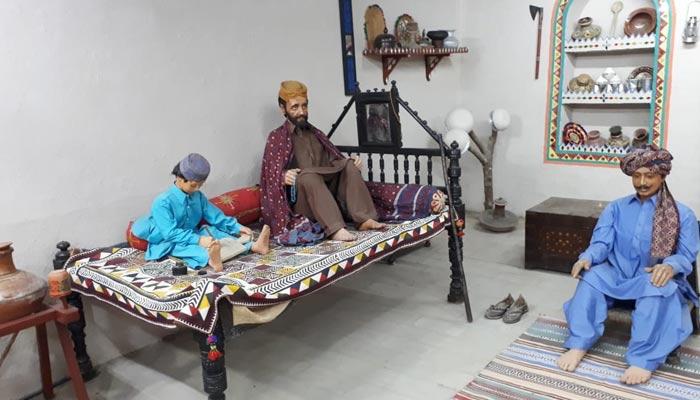 تاریخی و ثقافتی اہمیت کا عکاس ''سندھ میوزیم حیدر آباد''