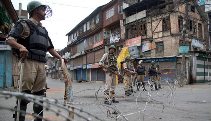 بھارتی سازش کے خلاف مقبوضہ کشمیر میں آج مکمل ہڑتال