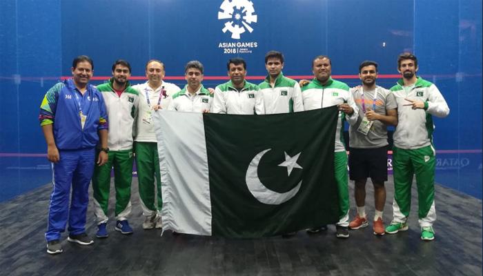 ایشین گیمز: پاکستان اسکواش کے سیمی فائنل میں پہنچ گیا