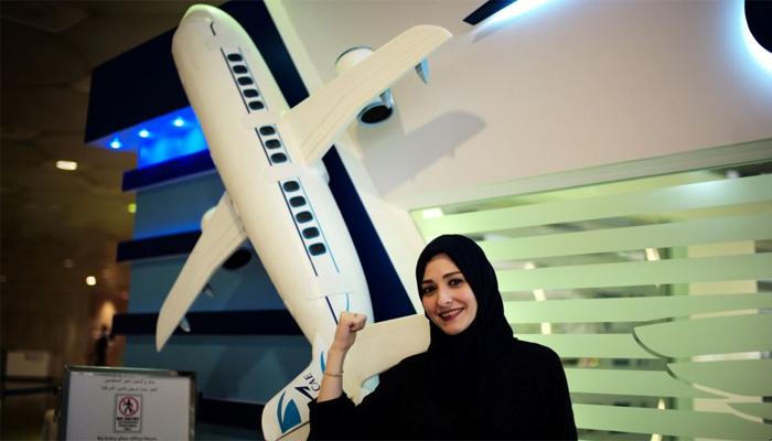سعودی خواتین اب جہاز اڑانے کیلئے تیار