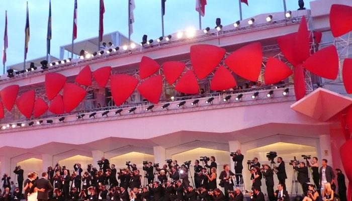 وینس میں 75 ویں فلم فیسٹیول کا میلا