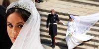 میگھن کی شادی کا جوڑا پہلی بارنمائش کیلئے پیش