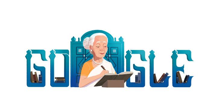 فاطمہ ثریا بجیا کو گوگل کا خراج عقیدت