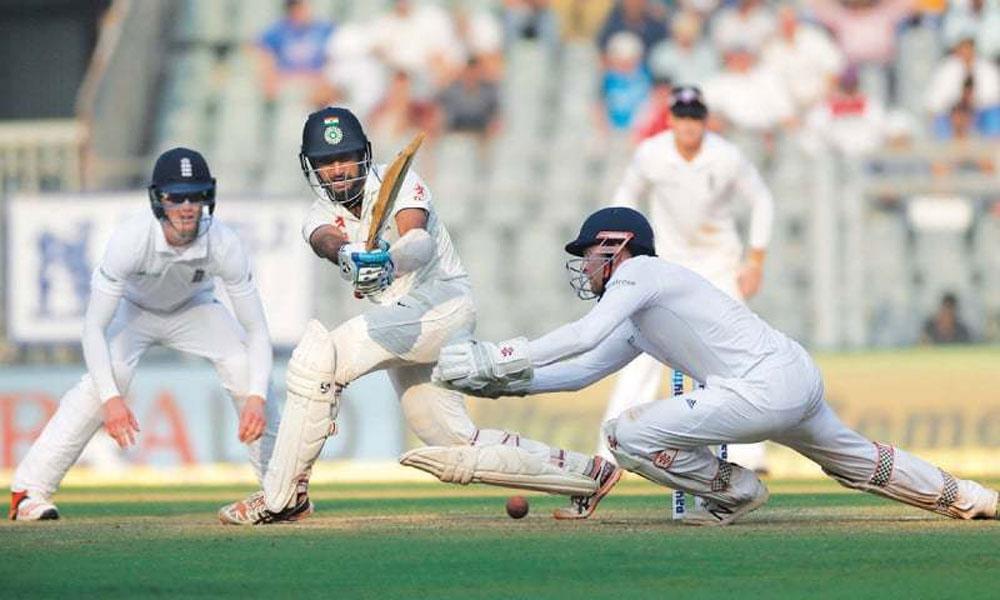 بھارت انگلینڈ کیخلاف 273 پر آؤٹ،27 رنز کی برتری حاصل