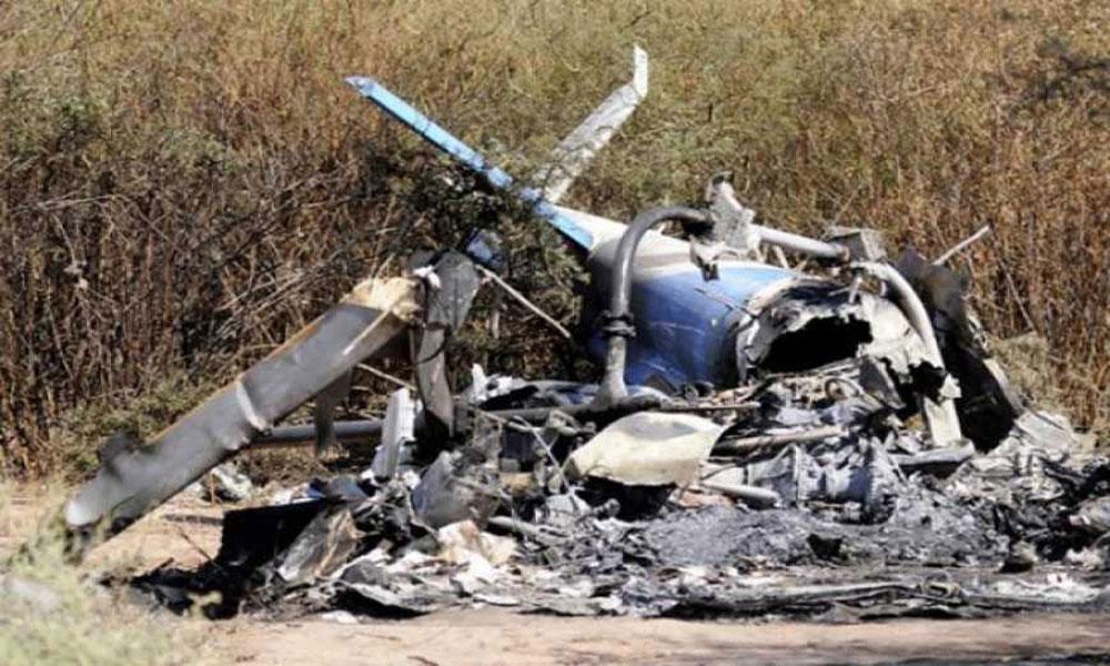 افغانستان میں فوجی ہیلی کاپٹر گر کر تباہ ،2 ہلاک
