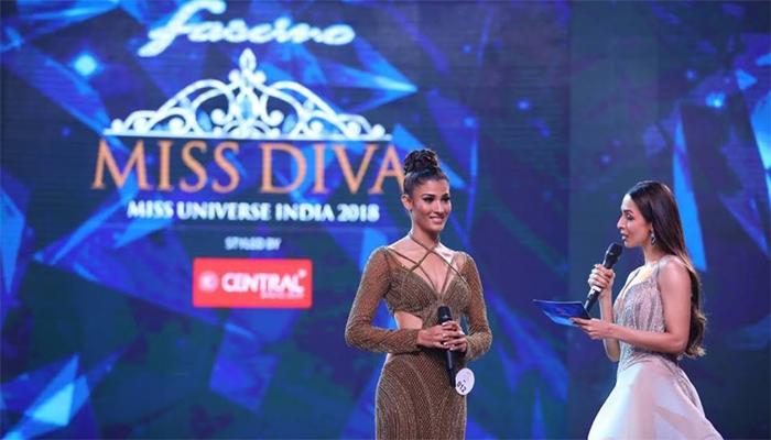 مس دیوا یونیورس انڈیا کا تاج 'نیہل چوداساما'نے اپنے سر پر سجا لیا