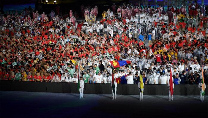 ایشین گیمز رنگا رنگ تقریب کیساتھ اختتام پذید، چین کی پہلی پوزیشن