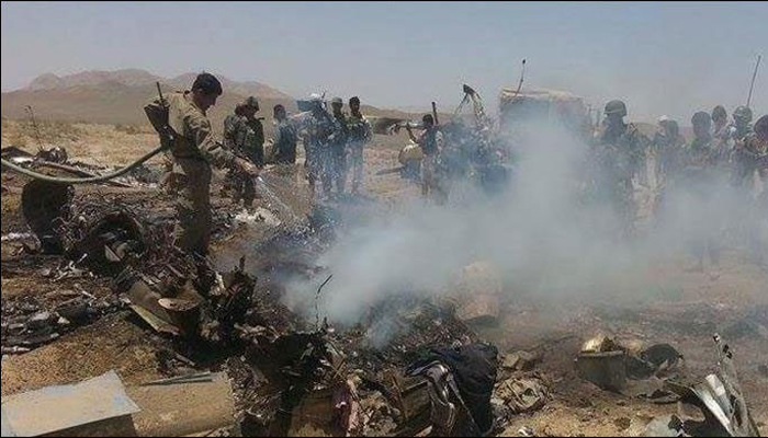 افغانستان:فوجی ہیلی کاپٹر میں مرنے والوں کی تعداد 13 ہوگئی