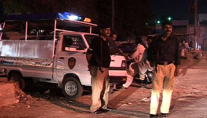 کراچی میں مبینہ پولیس مقابلہ، 3 دہشت گرد ہلاک