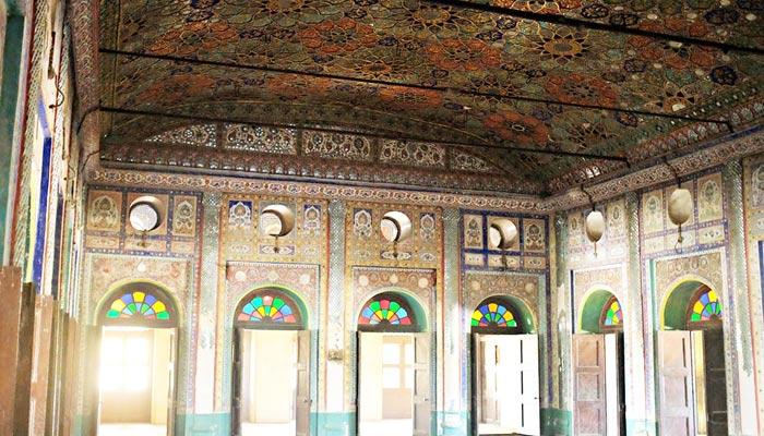 ''پکو قلعو'' قدیم یادگار،  اس کا مرکزی دروازہ شاہی بازار کی طرف کھلتا ہے
