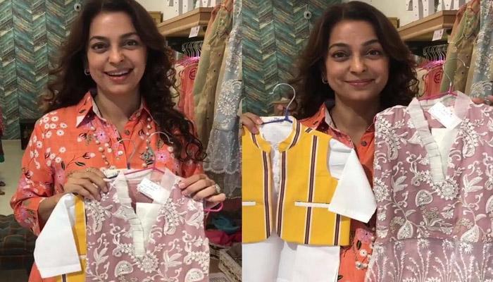 جوہی چاؤلہ کو کراچی سے تحفے میں کیا ملا؟