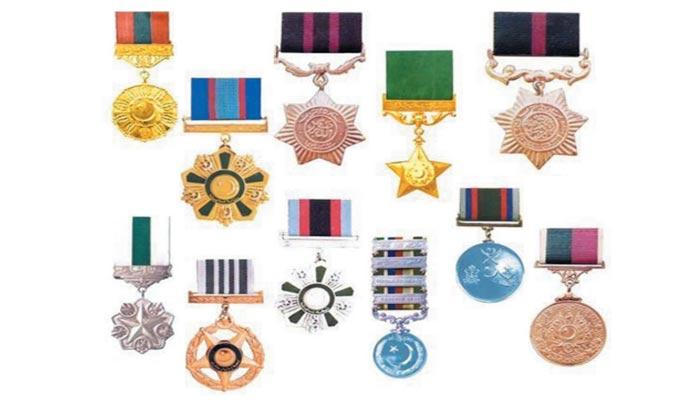 پاکستان کے فوجی اعزازات