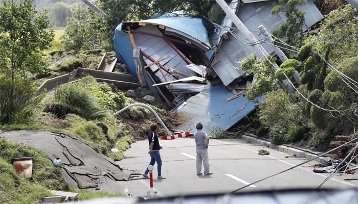 جاپان کے شمالی جزیرے میں زلزلہ،8 افراد ہلاک