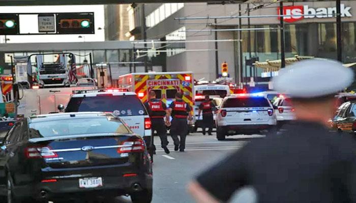 امریکی شہر سنسناٹی کے بینک میں فائرنگ ، 3 افراد ہلاک