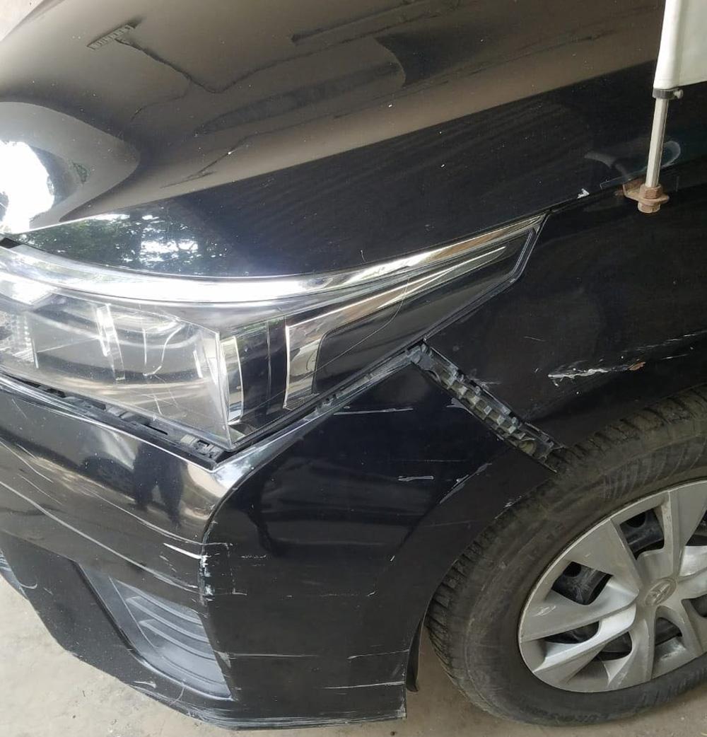 شہلا رضا کی گاڑی کو حادثہ، معمولی زخمی