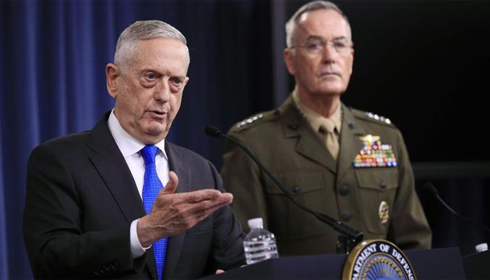 امریکی وزیر دفاع افغانستان پہنچ گئے
