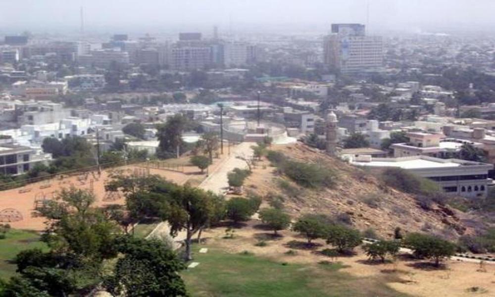 کراچی میں ہل پارک کی پہاڑی پر قبضے کی کوشش ناکام