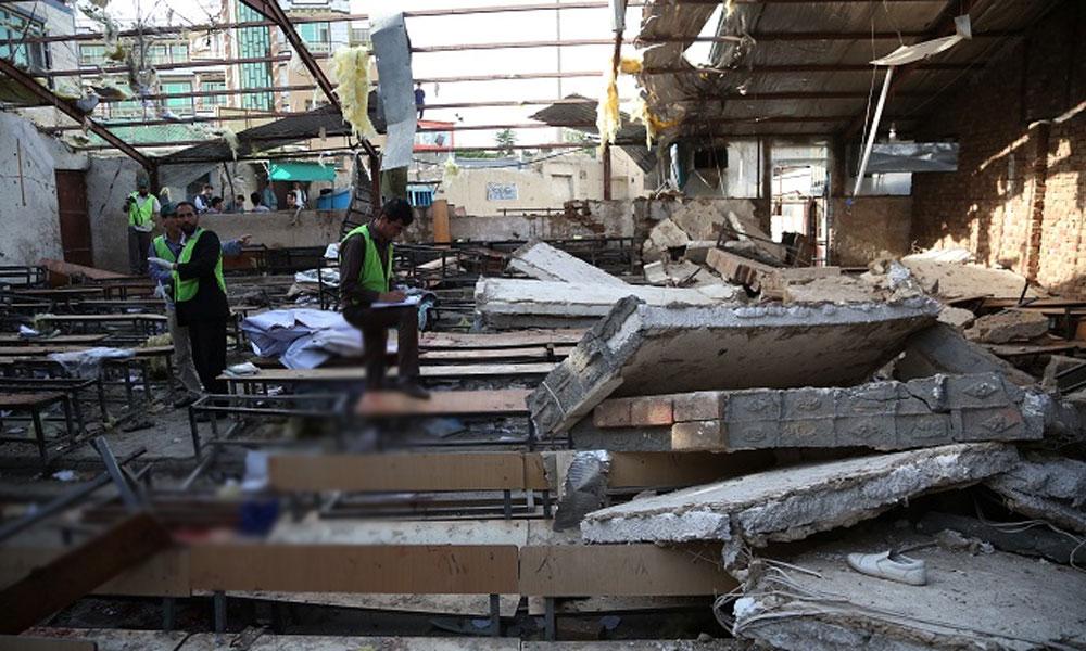 کابل کے ریسلنگ جیم دھماکے میں 35 ایتھلیٹ ہلاک