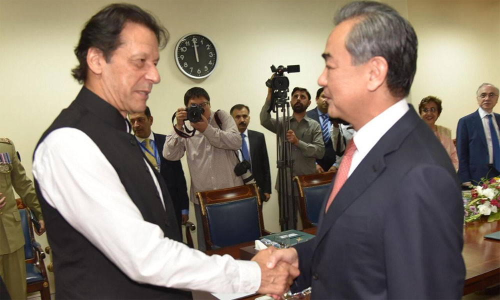 وزیراعظم سے سعودی اور چینی وزراء کی ملاقات