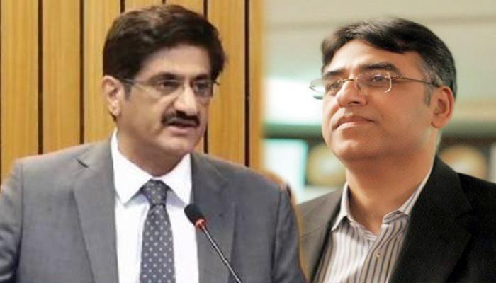 ای سی سی اجلاس،مراد علی شاہ کا اسد عمر کو ٹیلی فون