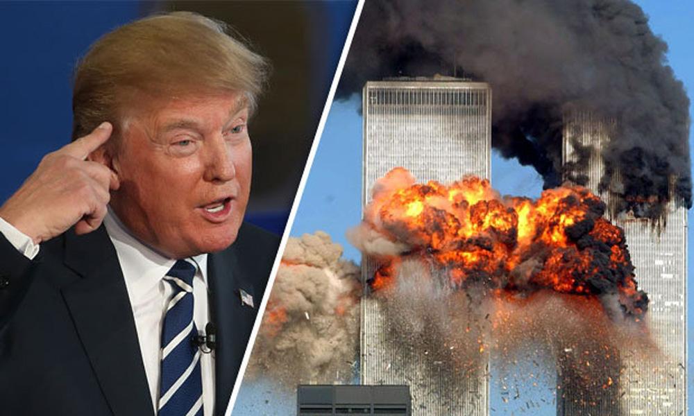 سانحہ ورلڈ ٹریڈ سینٹر پر ٹرمپ کے متنازع بیانات