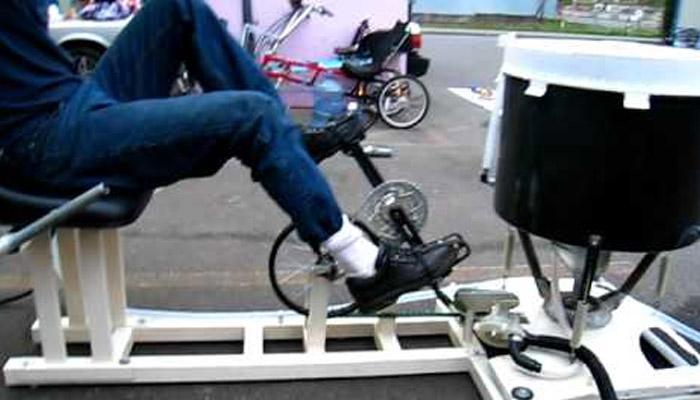 برطانوی شخص نےانوکھی واشنگ مشین تیار کرلی