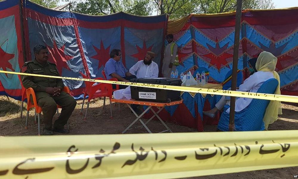 کراچی سچل میں خاتون کی قبر کشائی ،قتل کی تصدیق