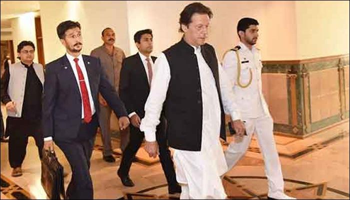 آئی ایس آئی ہماری پہلی دفاعی لائن ہے،عمران خان