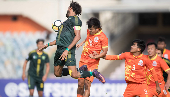 ساف فٹ بال، بھارت کے ہاتھوں پاکستان کو شکست