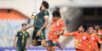 ساف فٹ بال ، بھارت کے ہاتھوں پاکستان کو شکست