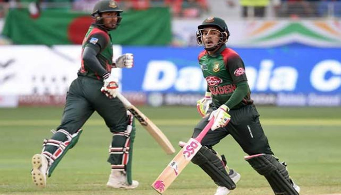 ایشیا کپ: بنگلہ دیش کا سری لنکا کو جیت کیلئے 262رنز کا ہدف