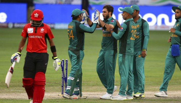 ایشیا کپ: ہانگ کانگ کا پاکستان کو جیت کیلئے 117رنز کا ہدف