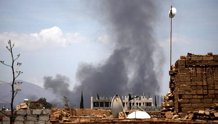 یمن میں اتحادی فورسز کا فضائی حملہ،4 افراد ہلاک
