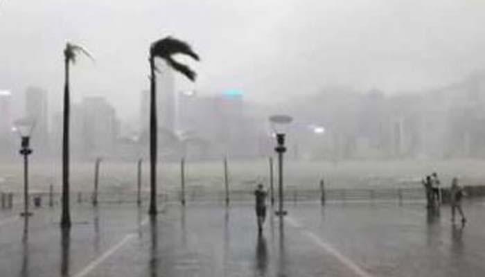 چین سمندر ی طوفان کی زد میں