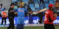 ایشیا کپ: بھارت کا ہانگ کانگ کو جیت کیلئے 286 رنز کا ہدف