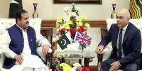 وزیراعلیٰ پنجاب سے برطانوی وزیر داخلہ کی ملاقات