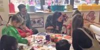 کیٹ مڈلٹن کی لندن کے اسکول میں بچوں سے ملاقات