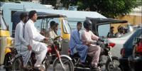 سندھ میں تین روز کے لئے ڈبل سواری پر پابندی