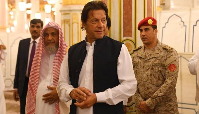وزیراعظم کی سعودی فرمانروا شاہ سلمان سے ملاقات