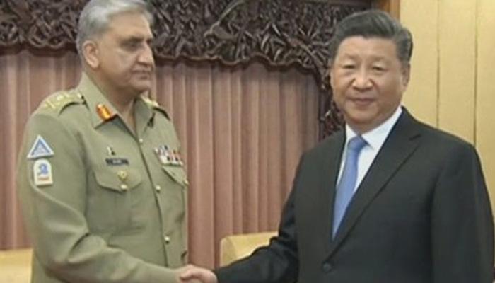 آرمی چیف کی چینی صدر سے ملاقات، علاقائی چیلنجز پر بات چیت
