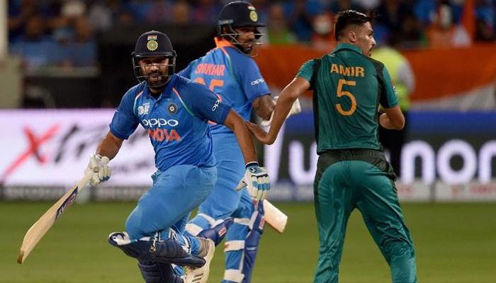 ایشیا کپ میں بھارت کی جارحانہ بیٹنگ، 58رنز بغیر کسی نقصان کے