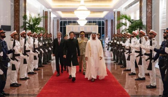 عمران خان کی امارات کے ولی عہد شیخ محمد سے ملاقات