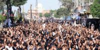 نو محرم الحرام : کراچی میں مرکزی جلوس روایتی راستوں پر گامزن
