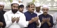 وزیر اعلی پنجاب نے حضرت داتا گنج بخشؒ کے مزار کو غسل دیدیا