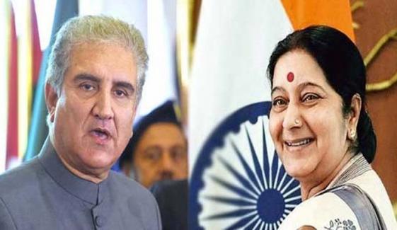 بھارت نے شاہ محمود ،سشما سوراج کی ملاقات منسوخ کردی