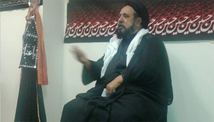 امام حسین کا مشن امر بالمعروف نہی المنکر تھا، علامہ قاضی