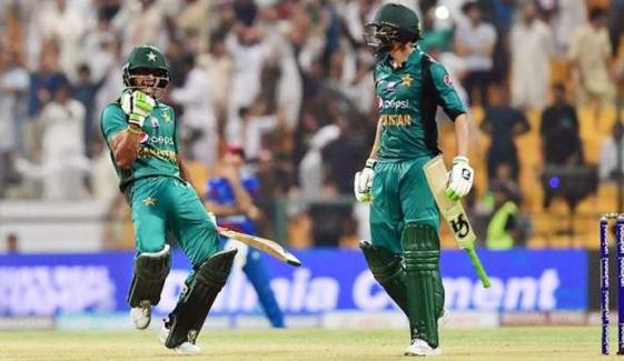 ایشیا کپ: پاکستان نے افغانستان کو شکست دے دی