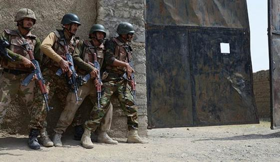 وزیرستان میں آپریشن،7 فوجی شہید ،9 دہشت گرد ہلاک
