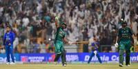 ایشیا کپ :پاکستان، افغانستان میچ کی تصویری جھلکیاں